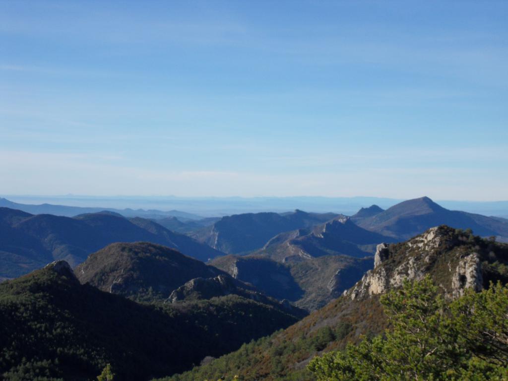 Baronnies Provençale, étendu sauvage