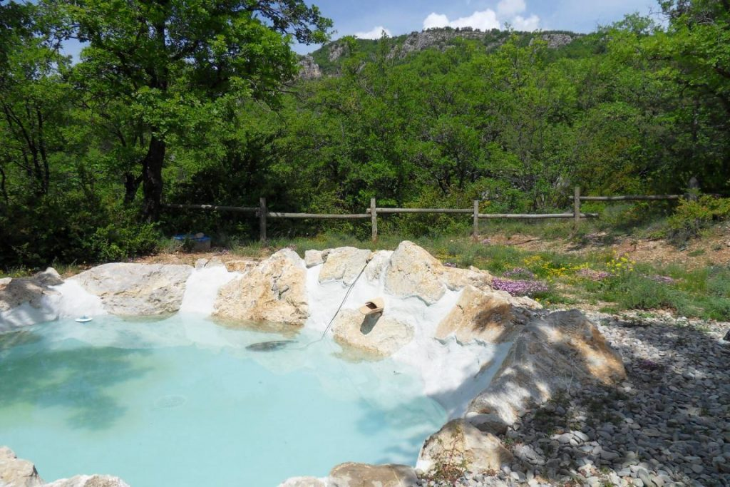 Bassin de baignade naturel