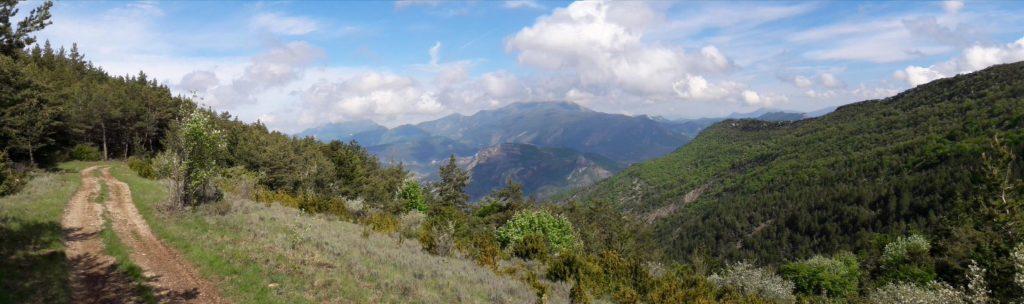 Drôme Provençale, relief de moyenne montagne