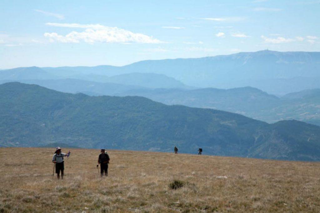 immensité paysagère, sentiers balisés et topos guides